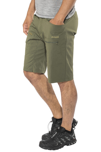 Bergans M's Utne Shorts Seaweed/Khaki Grön